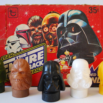 Star Wars Empire Strikes Back Candy Container Set - Movies