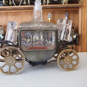 Coach decanter bar set - Bottles
