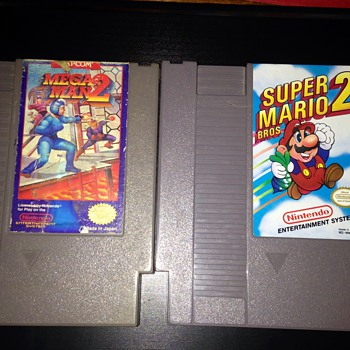 Two Vintage NES Games :)