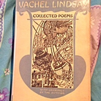 """""""Collected Poems"""" by Vachel Lindsay - Books"""