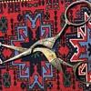 Clauss stork embroidery scissors