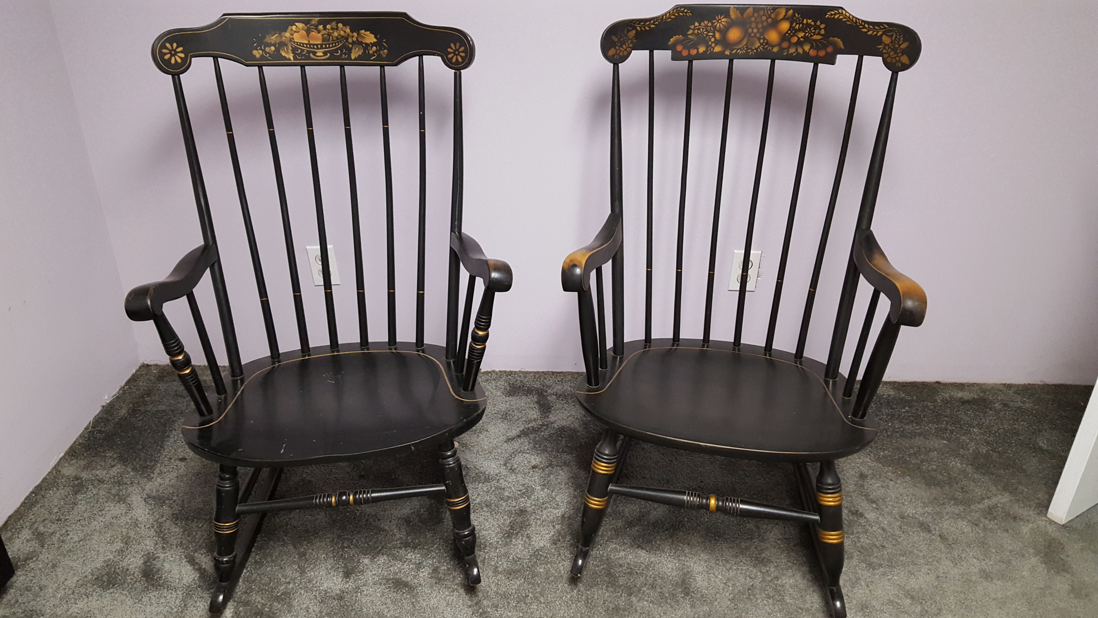 Prime S Bent And Bros Colonial Rocking Chairs Collectors Weekly Machost Co Dining Chair Design Ideas Machostcouk