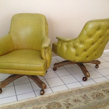 Does anyone know who is the maker of these chairs?