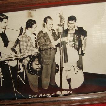 The Range Riders. - Music Memorabilia