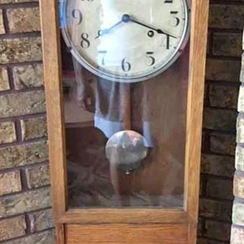 Amazing International Time Recorder Wall Clock with Seth Thomas Movement (4 feet tall) - Clocks