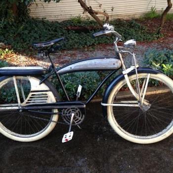 1950's J.C. Higgins Color Flow Tank Bike Men's Cruiser