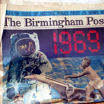 1969-the concorde/budget/moon landing-the birmingham post. - Paper