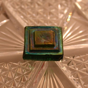 Tiffany tile Circa  1890-1900 - Art Glass