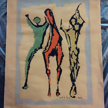 Marino Marini Need Help,  OLD Estate Attic Find, UNKNOWN IF a Print or Original??