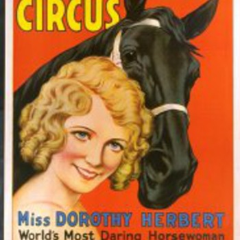 Dorothy Herbert (Ringling Bros and Barnum & Bailey) - Posters and Prints