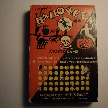 Halloween   A Party Game - Games