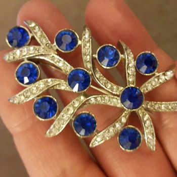 A few more brooches - Costume Jewelry