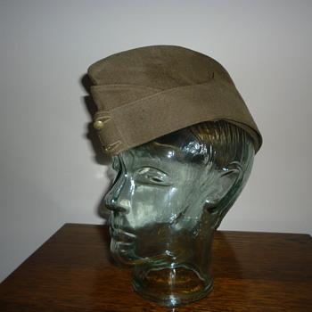 British Army WWII side cap.