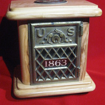 United States Post Office 'Lock-Box' . . . circa 1863