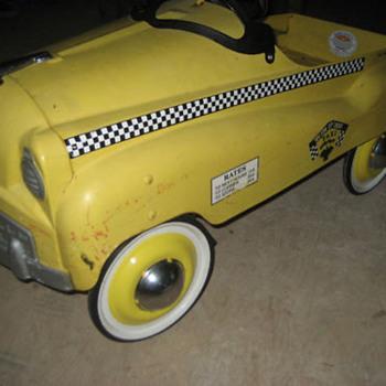Taxi Pedal Car - Model Cars