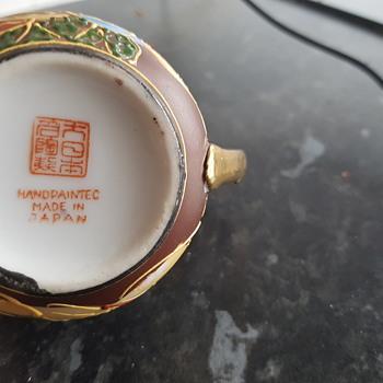 Japanese pottery mystery - Pottery