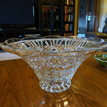 Large Glass Bowl? - Art Glass