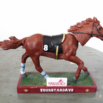 Saratoga Giveaway 2013…Four Star Dave Bobblehead…. - Figurines