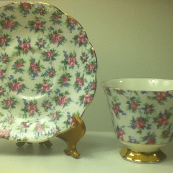 1960s-1970s Royal Albert Cup and Saucer Set - China and Dinnerware
