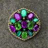 Monet Multicolor Brooch