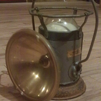 Old Boy Scouts Lantern  - Sporting Goods