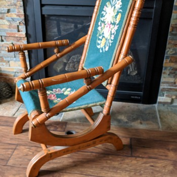 Great looking rocking chair. - Furniture