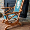 Great looking rocking chair.
