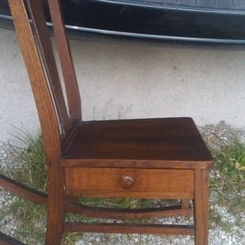 Vintage Rocking Chair - Furniture