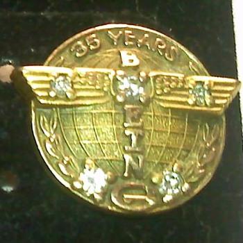 Boeing pins - Fine Jewelry