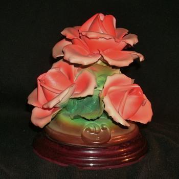 Capodimonte Roses - Pottery