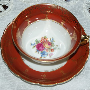 Pretty Tea Cup with Unknown Mark - China and Dinnerware