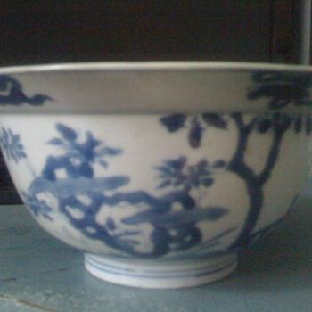 kangxi bowl 17 c