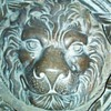 Antique Lion Head Door Knocker