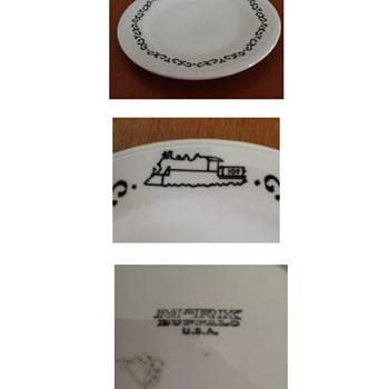 Railroad Plates - China and Dinnerware