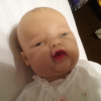 Vintage infant madam alexander doll