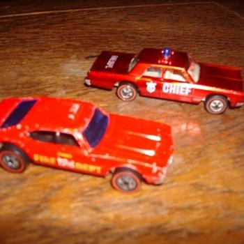 Redline Hot Wheels - Fire Chief - Model Cars