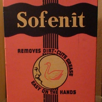 Sof-en-it By The Moon-shine Chemical Company Pittsburgh, PA  - Advertising