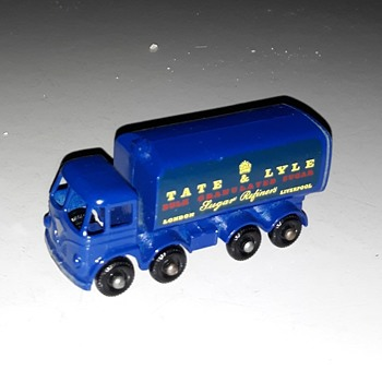 Much Munching Matchbox Monday MB-10 Sugar Container Truck - Model Cars
