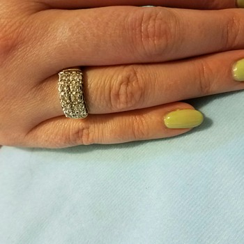 GORGEOUS ring but confused on mark!  - Fine Jewelry