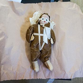 1940's Paratrooper Parachute Doll