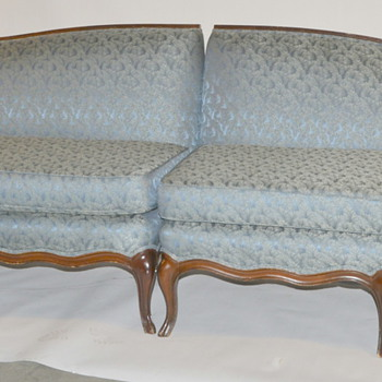 Antique Victorian Couch - 2 Sections Measure 8ft 6in