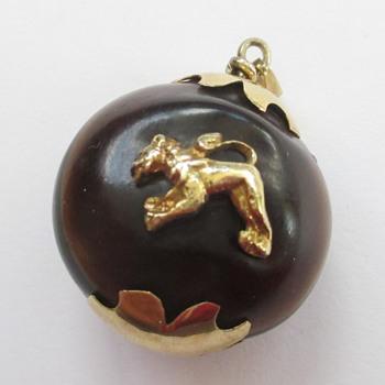 Kukui Nut pendant - Fine Jewelry