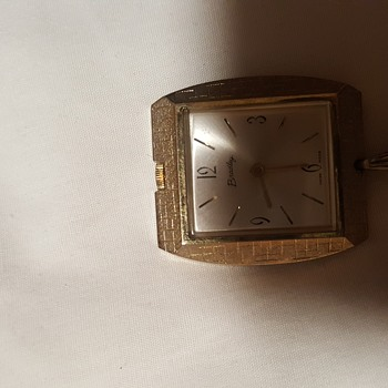 E.g Mens Square Bradley Swiss made watch