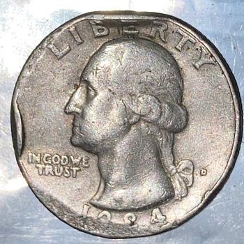 Error quarter - US Coins