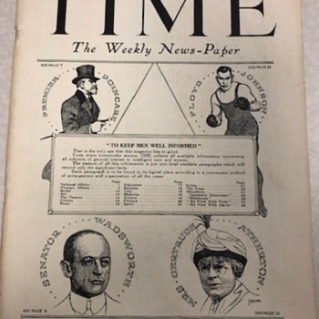 """Time """"Mock"""" from Feb,17th 1923 - Paper"""
