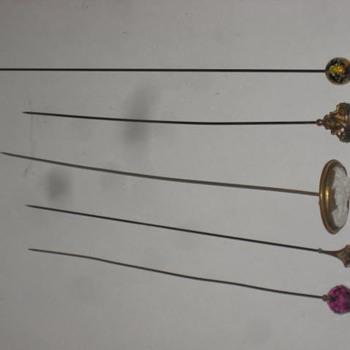 Hat Pins Old - Fine Jewelry