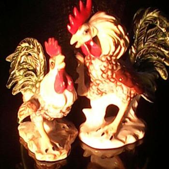 Two Lefton Figurines