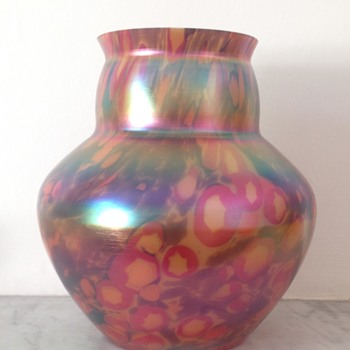 Kralik Iris millefiore vase - Art Glass
