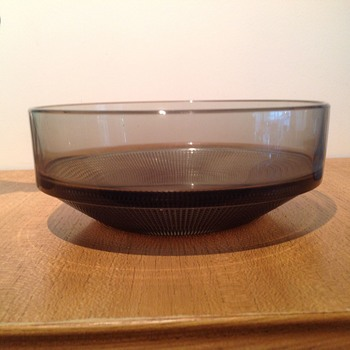 VINETA BOWL - KJELL BLOMBERG 1962  - Art Glass