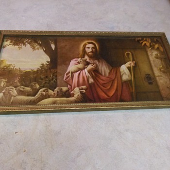 VINTAGE RELIGIOUS PRINT - Fine Art